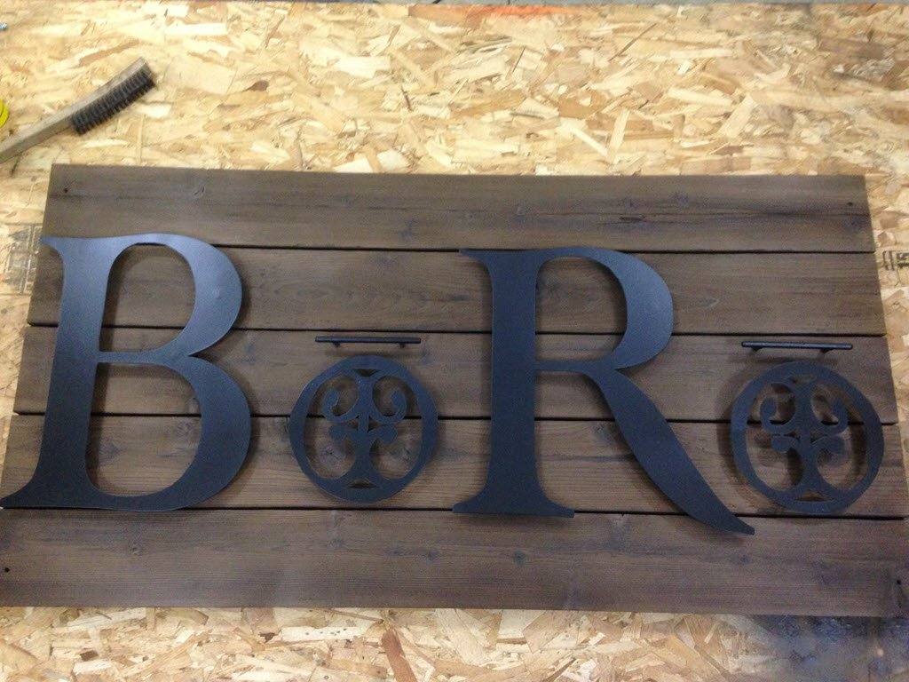 shop sign ready to go